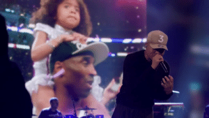 Chance The Rapper's tribute to Kobe & Gianna  https://t.co/5eHGGhY6Ks: Chance The Rapper's tribute to Kobe & Gianna  https://t.co/5eHGGhY6Ks