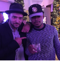 Chance The Rapper crashed Peyton Manning's retirement party last night 👀: Chance The Rapper crashed Peyton Manning's retirement party last night 👀