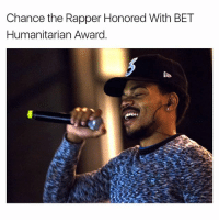 Chance the Rapper, Memes, and 🤖: Chance the Rapper Honored With BET  Humanitarian Award