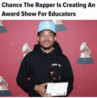 """repost (@moorinformation) """"Chance the Rapper wants to give educators the recognition they rightfully deserve. The Chicago rapper is organizing the inaugural Twilight Awards, set to be held in June 2018. The ceremony, hosted by James Corden, will celebrate """"teachers, parents, principals and students that convey leadership,"""" Chance said in his announcement Friday. The show will be held in his hometown and will feature guest performances."""" moorinfo: Chance The Rapper Is Creating An  Award Show For Educators  3  0  0  THANK YOU repost (@moorinformation) """"Chance the Rapper wants to give educators the recognition they rightfully deserve. The Chicago rapper is organizing the inaugural Twilight Awards, set to be held in June 2018. The ceremony, hosted by James Corden, will celebrate """"teachers, parents, principals and students that convey leadership,"""" Chance said in his announcement Friday. The show will be held in his hometown and will feature guest performances."""" moorinfo"""
