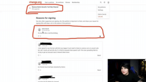 Ass, Bitch, and Douchebag: change.org  Start a petition My petitions Browse Membership  Remove Kalvin Garrah's YouTube Channel  My petitions  55K supporters  Settings  Kalvin Garrah  Log out  Reasons for signing  See why other supporters are signing, why this petition is important to them, and share your reason for  signing (this will mean a lot to the starter of the petition).  Kalvin Garrah  46 seconds ago  He sounds like a real douchebag.  0  3 days ago  I only signed to say this but yall bitch ass niggas fr just need to listen to science sorry to sound rude  but yall r dumb asf and idk why tf u think he spreads hate speech yall r the ones spreading hate by  trying to get an innocent man's channel taken down  1  Reaort  6 days ago  my friends have had been attacked by Kalvin  Report  1 week ago  voutube sbould delete bis channel Kalvin Garrah signed a petition to take down his own YouTube channel and even donated $3