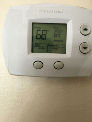 Changed the thermostat for this me, I'm scared I can hear the wrenches and hammers in the distance: Changed the thermostat for this me, I'm scared I can hear the wrenches and hammers in the distance