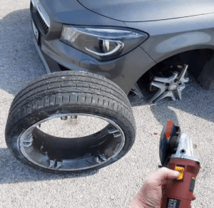 changing my own tires today: changing my own tires today