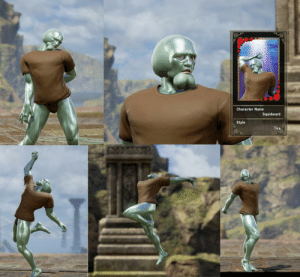 Squidward, Character, and Name: Character Name  Squidward  Style  Tira  Is Feeling handsome, might delete later.