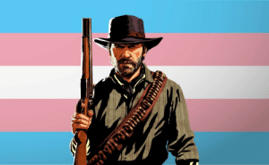 charactersdemandingtransrights:  Arthur Morgan demands trans rights !!!: charactersdemandingtransrights:  Arthur Morgan demands trans rights !!!