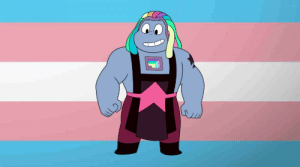 charactersdemandingtransrights:  Bismuth demands trans rights !!!: charactersdemandingtransrights:  Bismuth demands trans rights !!!