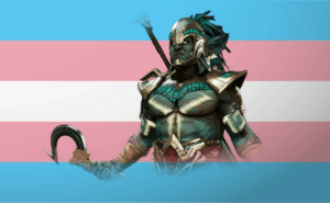 charactersdemandingtransrights:  Kotal Khan demands trans rights !!!: charactersdemandingtransrights:  Kotal Khan demands trans rights !!!