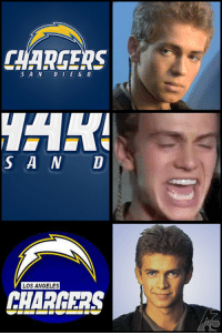 "Football, Memes, and Super Bowl: CHAREERS  SAN DUEG 0  S A N D  LOS ANGELES  CHARGERS <p>Football incorporated memes are taking off. Get in on the bottom floor before the Super Bowl! via /r/MemeEconomy <a href=""http://ift.tt/2k1KBPb"">http://ift.tt/2k1KBPb</a></p>"