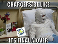 CHARGERS BE LIKE  ITS FINALLY OVER They own fan base getting in on they own..😂😂-Chris
