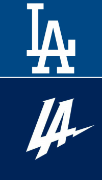 """Chargers logo look like someone took the Dodgers' and just hit """"italicize"""""""