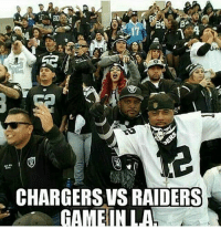 Real Talk, NFL thinks by putting 2 teams not named The Raiders that the Raider Nation will go away or root for the Shitty teams that they placed there, yet little do they know the Stadium will look like this when the Raiders Play in Los Angeles against the Chokers or Lambs!  #RN4L!: CHARGERS VS RAIDERS  GAMENULA Real Talk, NFL thinks by putting 2 teams not named The Raiders that the Raider Nation will go away or root for the Shitty teams that they placed there, yet little do they know the Stadium will look like this when the Raiders Play in Los Angeles against the Chokers or Lambs!  #RN4L!