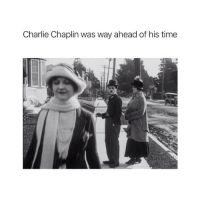 Charlie, Time, and Classical Art: Charlie Chaplin was way ahead of his time The original