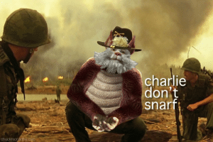 nope: charlie  don't  snarf  chuckmccarthy.com nope