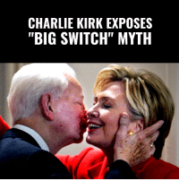 """Charlie, Memes, and American: CHARLIE KIRK EXPOSES  """"BIG SWITCH"""" MYTH EVERY AMERICAN NEEDS TO SEE THIS!  Charlie Kirk Explains How The Left's """"Big Switch"""" Is A TOTAL LIE Designed To HIDE Their Racist History! #BigGovSucks   SERIOUSLY... Watch To The End! 👇👇👇"""