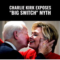 "Charlie, Memes, and American: CHARLIE KIRK EXPOSES  ""BIG SWITCH"" MYTH EVERY AMERICAN NEEDS TO SEE THIS!  Charlie Kirk Explains How The Left's ""Big Switch"" Is A TOTAL LIE Designed To HIDE Their Racist History! #BigGovSucks   SERIOUSLY... Watch To The End! 👇👇👇"