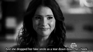 https://iglovequotes.net: CHCH  And she dropped her fake smile as a tear down down her cheek.  LONELY-UNICORN https://iglovequotes.net