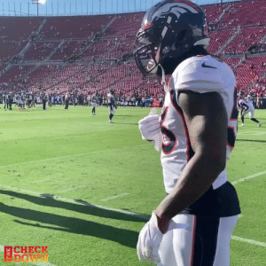 Making this kid's day 🙌  @Broncos LB Dekoda Watson picked a player from the @RamsNFL youth team to coach him up on the field 💯  (via @thecheckdown) @WattsRams @dekodawatson57 https://t.co/TGDQkjtTrn: CHECK  DOW Making this kid's day 🙌  @Broncos LB Dekoda Watson picked a player from the @RamsNFL youth team to coach him up on the field 💯  (via @thecheckdown) @WattsRams @dekodawatson57 https://t.co/TGDQkjtTrn