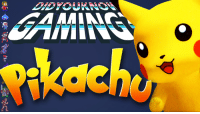 Check out the latest Did You Know Gaming? Video on Pokémon's Pikachu! https://www.youtube.com/watch?v=pU-5FTkQqbw&list=PL26D7E5A7D29CCAB3: Check out the latest Did You Know Gaming? Video on Pokémon's Pikachu! https://www.youtube.com/watch?v=pU-5FTkQqbw&list=PL26D7E5A7D29CCAB3