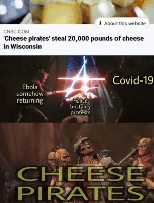 Cheese Pirates setting priorities: Cheese Pirates setting priorities