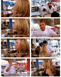 "Savage @gordongram 😭💀 I literally watched this episode the other day 😂: Chef? Mr. Chef  Yes.ladies?  You hurt myifriend's feelings...  hurtyour friend's feelings? Why?  Because vou told her tofuck off""  Yeah, you did  Okay... Will you tell her Imeant it?  Can  please Back to plastics  y ou escort these  two】ladies  surgery Savage @gordongram 😭💀 I literally watched this episode the other day 😂"