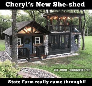 Image result for she shed sheila