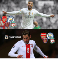 Paris St-Germain will allow forward Jese Rodriguez, 23, and defensive midfielder Grzegorz Krychowiak, 26, to leave. The duo are valued at £55m and news of their availability has alerted Arsenal, Liverpool, Manchester City and West Ham.: CHES  Arsenal  94  CITE  WEST HAM  YORILLNIVERWA  UNITED  LIVERPOOL  LONDOH  EST 1892  TRANSFER TALK  Emirates  Arsenal  WEST HAM  UNITED  KONDOM  CHEST  94  CIR  YOUILLNEVERWALKALON  LIVERPOOL,  ESTIa $2 Paris St-Germain will allow forward Jese Rodriguez, 23, and defensive midfielder Grzegorz Krychowiak, 26, to leave. The duo are valued at £55m and news of their availability has alerted Arsenal, Liverpool, Manchester City and West Ham.