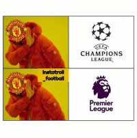 Football, Memes, and Premier League: CHEST  CHAMPIONS  LEAGUE  Instatroll  football  CHES  UNITE  Premier  League United this season 😆✋ PremierLeague ChampionsLeague United NoThanks