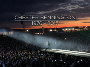 Beautiful, Tumblr, and Lost: CHESTER BENNINGTON  1976-2017 aishlingpark:  One year ago today, we lost a beautiful soul.  March 20, 1976 - July 20, 2017