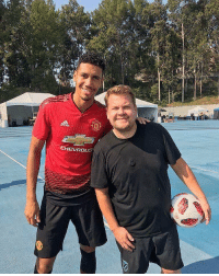 Soccer, Fit, and New: CHEVROLE So much for Luke Shaw being fit for the new season... https://t.co/CzrUgoQoiA
