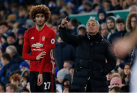 85': Marouane Fellaini comes off the bench 87': Marouane Fellaini gives away a penalty: CHEVROLET 85': Marouane Fellaini comes off the bench 87': Marouane Fellaini gives away a penalty