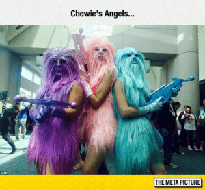 Tumblr, Angels, and Blog: Chewie's Angels...  THE META PICTURE awesomesthesia:  Weirdest Cosplay Ever