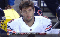 """<p>It&rsquo;s game day and it&rsquo;s a big one! Smokin&rsquo; Jay Cutler and the Chicago Bears square off against Aaron Rodgers and the Green Bay Packers. Good luck Smokin&rsquo; Jay!</p> <p>Fan submission (courtesy of <a href=""""https://twitter.com/WorldofIsaac"""" target=""""_blank"""">Isaac</a>)</p>: CHI 28 SF 20 4th 6:55 17ist&10 <p>It&rsquo;s game day and it&rsquo;s a big one! Smokin&rsquo; Jay Cutler and the Chicago Bears square off against Aaron Rodgers and the Green Bay Packers. Good luck Smokin&rsquo; Jay!</p> <p>Fan submission (courtesy of <a href=""""https://twitter.com/WorldofIsaac"""" target=""""_blank"""">Isaac</a>)</p>"""
