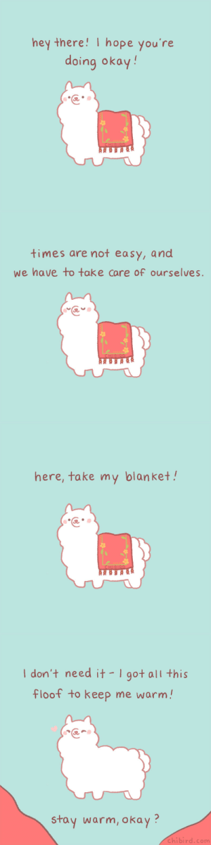chibird:  This fluffy alpaca cares about you! It wants to share its warm blanket with you. ♥My newest Positive Pin Club theme is Encouragement, and you can receive three encouraging prints when you sign up before March 31! o(^▽^)o✨: chibird:  This fluffy alpaca cares about you! It wants to share its warm blanket with you. ♥My newest Positive Pin Club theme is Encouragement, and you can receive three encouraging prints when you sign up before March 31! o(^▽^)o✨