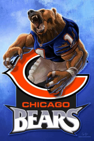 Chicago, Chicago Bears, and Pinterest: CHICAGO  BEARS  OOK COM/icssc Pin by Roland Lozano on disc golf | Pinterest | Chicago, Fútbol and Osos