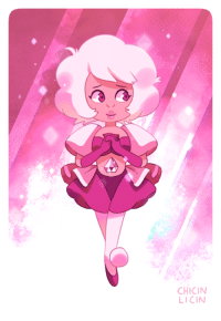Target, Tumblr, and Blog: CHICIN  LICIN chicinlicin:  New Pink Diamond!! had planned on just editing the old one, thought it'd be nicer to make a whole new one :O SET 1 | SET 2 | SET 3 | SET 4 | SET 5 | GEMS! | HUMANS!