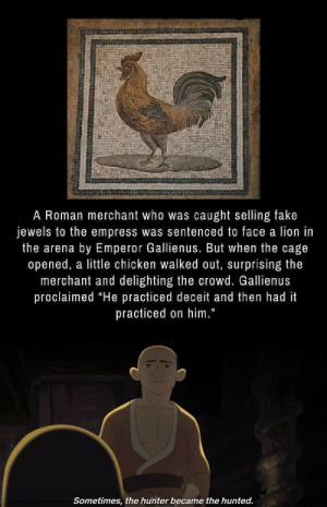 Chicken gags are quite old: Chicken gags are quite old