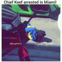 ChiefKeef Detained and Taken into Custody after near Altercation in Miami @pmwhiphop: Chief Keef arrested in Miami!  @gloganghq ChiefKeef Detained and Taken into Custody after near Altercation in Miami @pmwhiphop