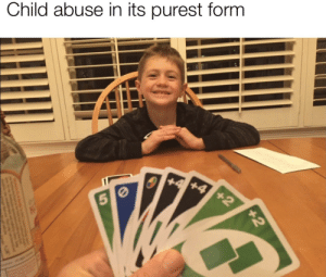 Poor kid doesn't know what's gonna hit him by Acatalepsychedelic MORE MEMES: Child abuse in its purest form  +4 +4 +2  5 0  +2 Poor kid doesn't know what's gonna hit him by Acatalepsychedelic MORE MEMES