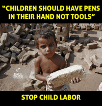 "Memes, Tool, and 🤖: ""CHILDREN SHOULD HAVE PENS  IN THEIR HAND NOT TOOLS""  BACK  BENCHERS  STOP CHILD LABOR"