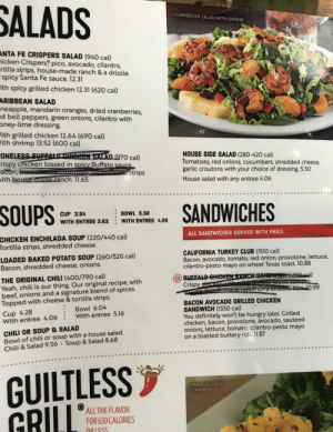 Chili's keeping it classy! Menu item discontinued? No sweat - just pull out the trusty black Sharpie!: Chili's keeping it classy! Menu item discontinued? No sweat - just pull out the trusty black Sharpie!