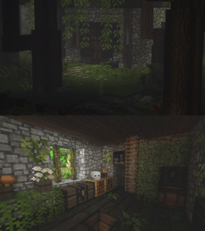 chillcrafting:  part ll of my witch house//one: chillcrafting:  part ll of my witch house//one