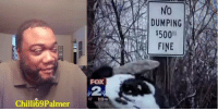 Memes, 🤖, and Foxes: Chilli69 Palmer  FOX  DUMPING  $500 #NoChill  #Chilli69Palmer  #SilentlyHilarious  (Daily Vids:  11am, 3pm and 7pm)   Via: Kissy Denise