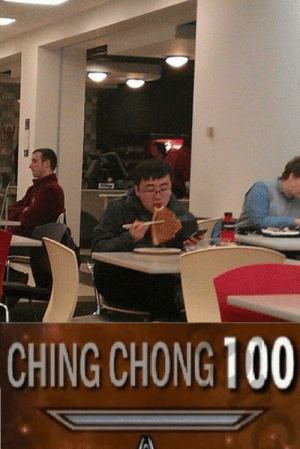 Anaconda, Chinese, and Chinese People: CHING CHONG 100 Chinese people