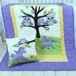 chinook-design:  Today a new quilt and a standard size pillowcase going to be a nice present to someone special. It has a bit of spring - feeling in this winter, with the owl family sitting on the branches and the guardian unicorn. Delicate and detailed applications, loved to do it. #customquiltsbyeva #cribbedding #toddlerfashion #instaowl #babyowl #babyblankets #nurserydecor #infantfashion #birtdayparty #birtdygirls #babyshowergift #etsyhungary #sewingforkids #babyroomideas #babyroomdecor #babyboyfashion http://ift.tt/1NXY4Uz : chinook-design:  Today a new quilt and a standard size pillowcase going to be a nice present to someone special. It has a bit of spring - feeling in this winter, with the owl family sitting on the branches and the guardian unicorn. Delicate and detailed applications, loved to do it. #customquiltsbyeva #cribbedding #toddlerfashion #instaowl #babyowl #babyblankets #nurserydecor #infantfashion #birtdayparty #birtdygirls #babyshowergift #etsyhungary #sewingforkids #babyroomideas #babyroomdecor #babyboyfashion http://ift.tt/1NXY4Uz