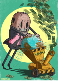 Money makes the world go round: CHIPPER  STEVECUTTS.COM Money makes the world go round