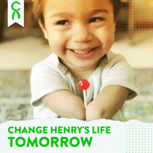 .@ChiveCharities is doing something huge for Henry, who was born with a congenital limb difference. Chivers, get ready to do your thing tomorrow and change this little boy's life! #HelpHenry https://t.co/ecFuJjQsW2: .@ChiveCharities is doing something huge for Henry, who was born with a congenital limb difference. Chivers, get ready to do your thing tomorrow and change this little boy's life! #HelpHenry https://t.co/ecFuJjQsW2