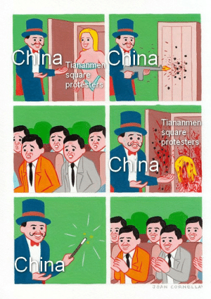 [redacted]: chnla  China  China  Tiananmen  square  protesters  Tiananmen  square  protesters  China  China  JOAN CORNELLA [redacted]