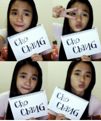the girl is my bestiee...  :D: Cho  Chang  Chang  Cho  Ch  CharlG,/  Chang the girl is my bestiee...  :D