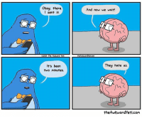 Awkward Yeti, Memes, and Run: CHO  Okay, there  I sent it  2017 The AMkward yeti  It's been  two minutes.  And now we wait!  theAwkMandyeticoMa  They hate us.  the Awkward yeti.com We had a good run