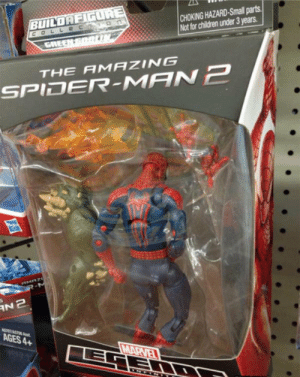 RT @XGroverX: Stared at this for a long time while Christmas shopping http://t.co/Tm4LynlCfj: CHOKING HAZARD-Small parts  Not for children under 3 years  BUILOR  THE AMAZING  SPIDER-MAN己  AGES 4+ RT @XGroverX: Stared at this for a long time while Christmas shopping http://t.co/Tm4LynlCfj